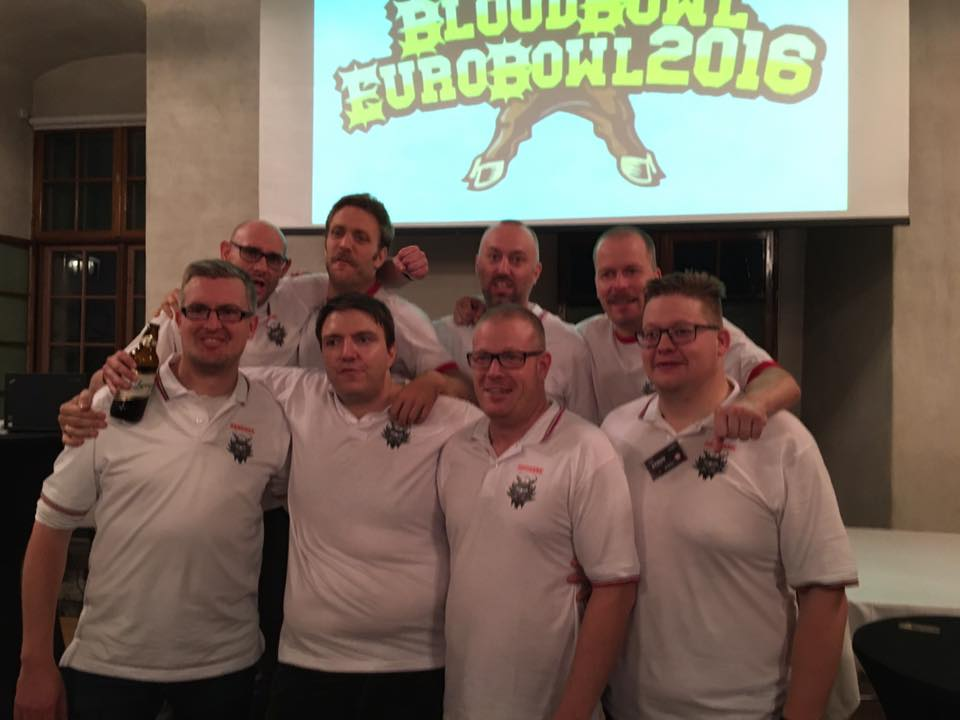 The Danish team @ EuroBowl 2016