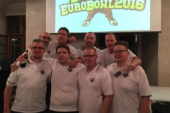 The Danish team @ EuroBowl 2016