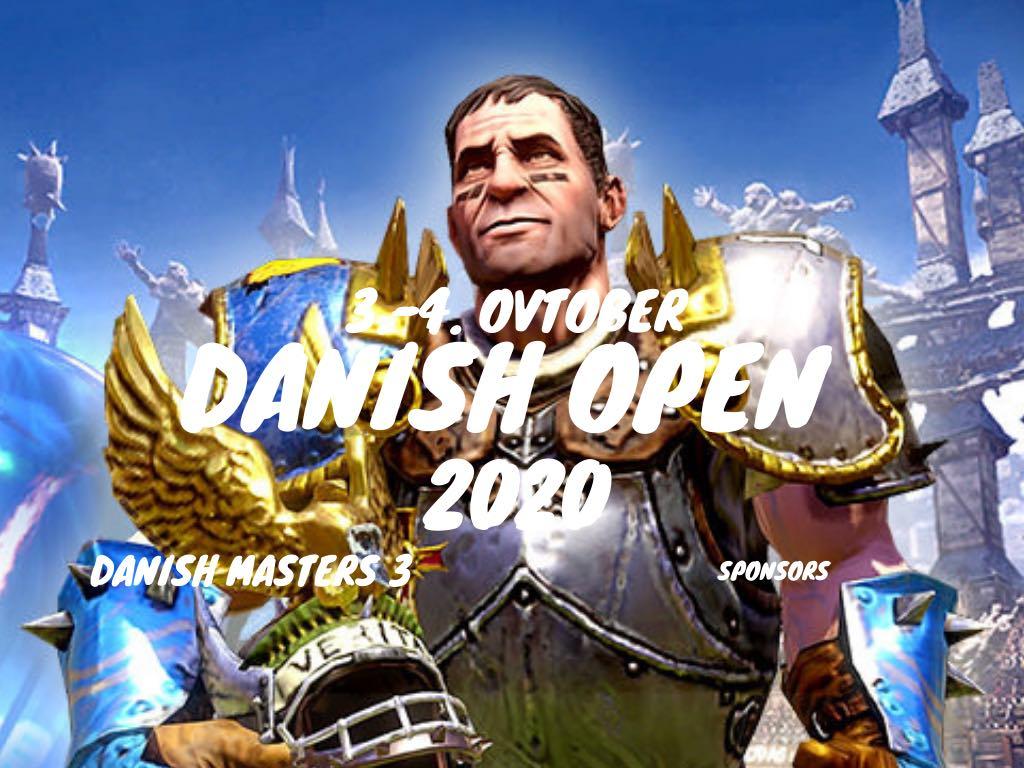 Danish Open 2020 - Venue moved AGAIN!